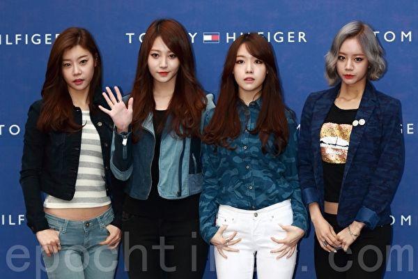 韩国女团Girl's Day资料照。(全景林/大纪元)
