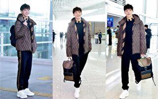 韓星機場時尚 金志洙前往米蘭秀新潮穿搭