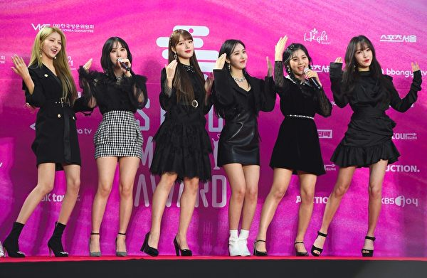 GFRIEND attend the Seoul Music Awards