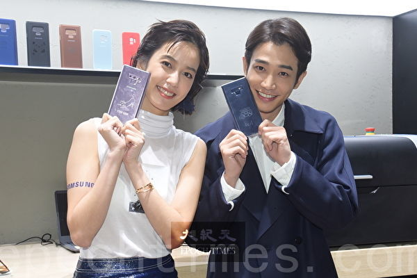 陳庭妮、劉以豪於1月18日在台北出席某旗艦體驗館開幕派對