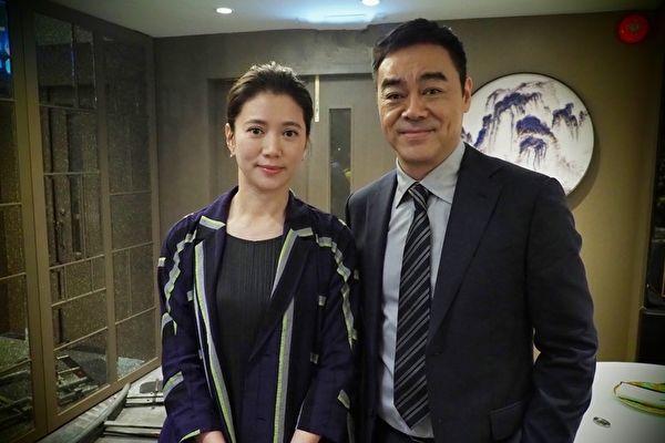 袁詠儀加盟《廉政風雲》 與劉青雲再度合作