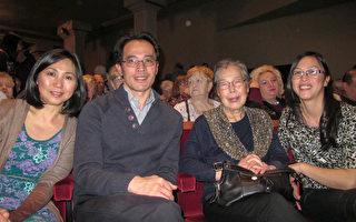 神韵舞蹈优雅 百年公司高级规划师感受和平