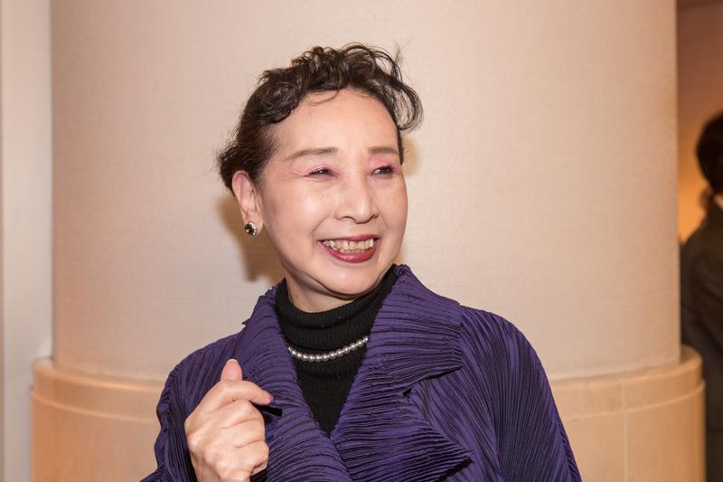 2019年1月29日,日本西洋舞泰斗亞甲繪里香(Erika Akoh),認為整台神韻演出在創造世界的美好與和平,是不可思議的完美藝術,如同置身神的世界。(余鋼/大紀元)