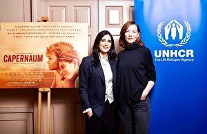 《我想有个家》获选联合国的年度形象电影,奥斯卡影后凯特‧布兰琪(右)二度力挺