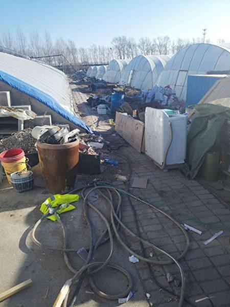 黑龍江大慶市暴力強拆事件。(受訪者提供)