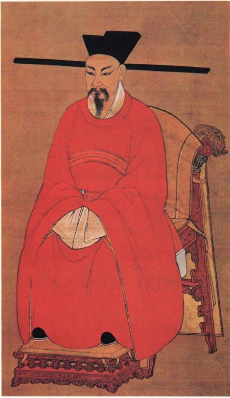 宋理宗像,台北故宫博物院藏。(公有领域)