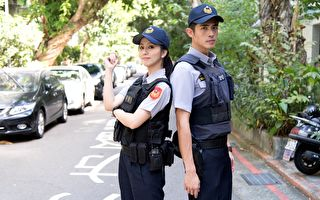 《必胜大丈夫》周晓涵与梁正群演警察