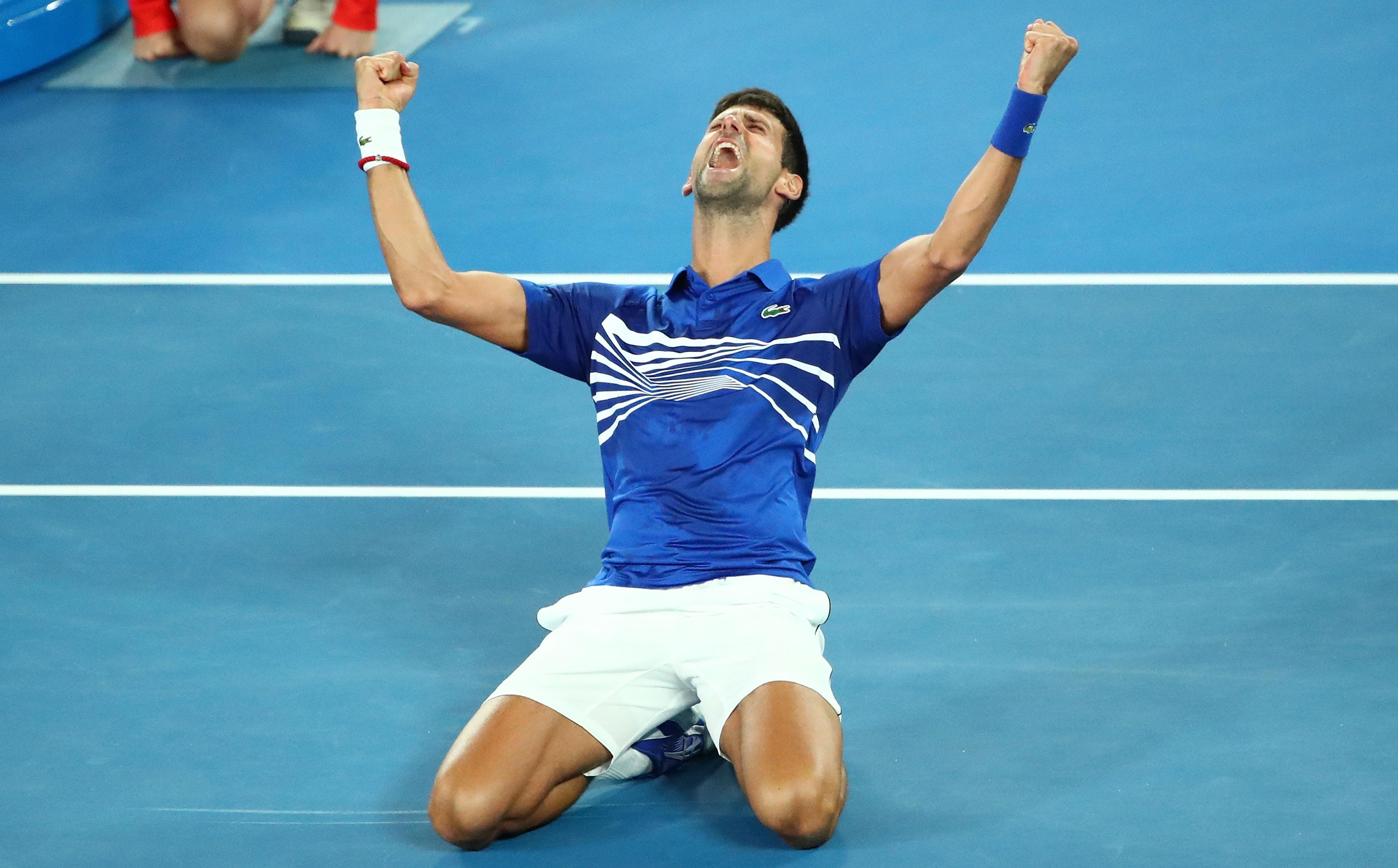 德约科维奇完胜纳达尔 夺澳网七冠创纪录