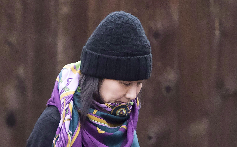 華為高管孟晚舟12月12日在溫哥華獲保釋。(加通社)