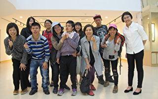 小光點畫廊聯展  身障者用畫作記錄生命故事