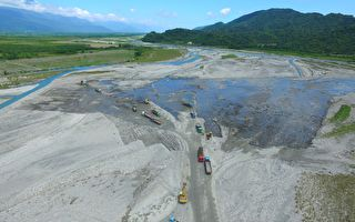 九河局整治河川 預計3年疏濬量將達650萬立方公尺