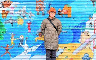 旅美台裔画家从《西游记》获灵感  呈现来美心境