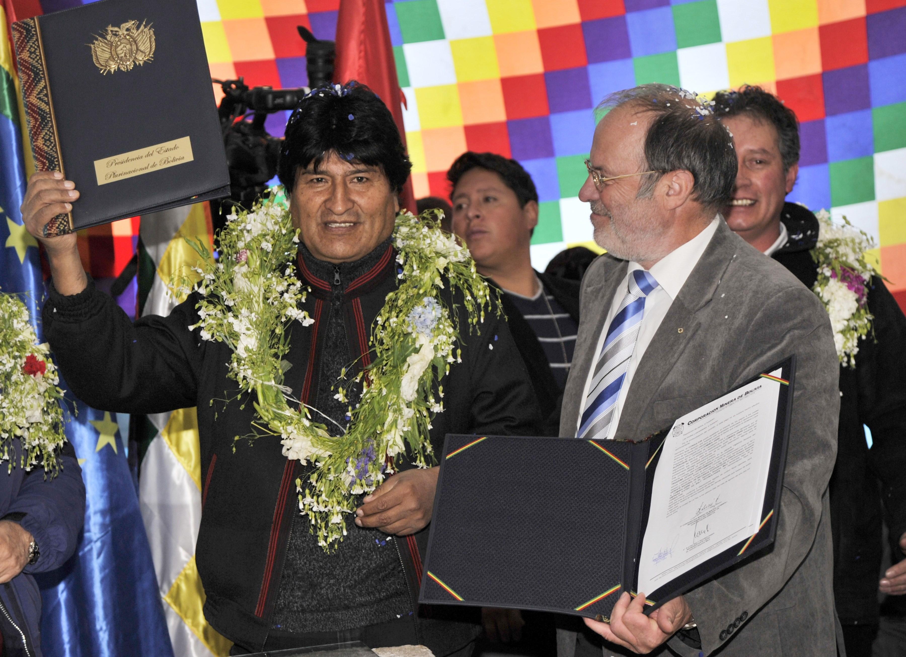 打破中共壟斷鋰資源 玻利維亞和德國合作