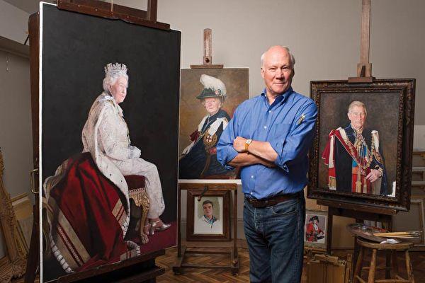 訪英國皇室肖像畫家Richard Stone