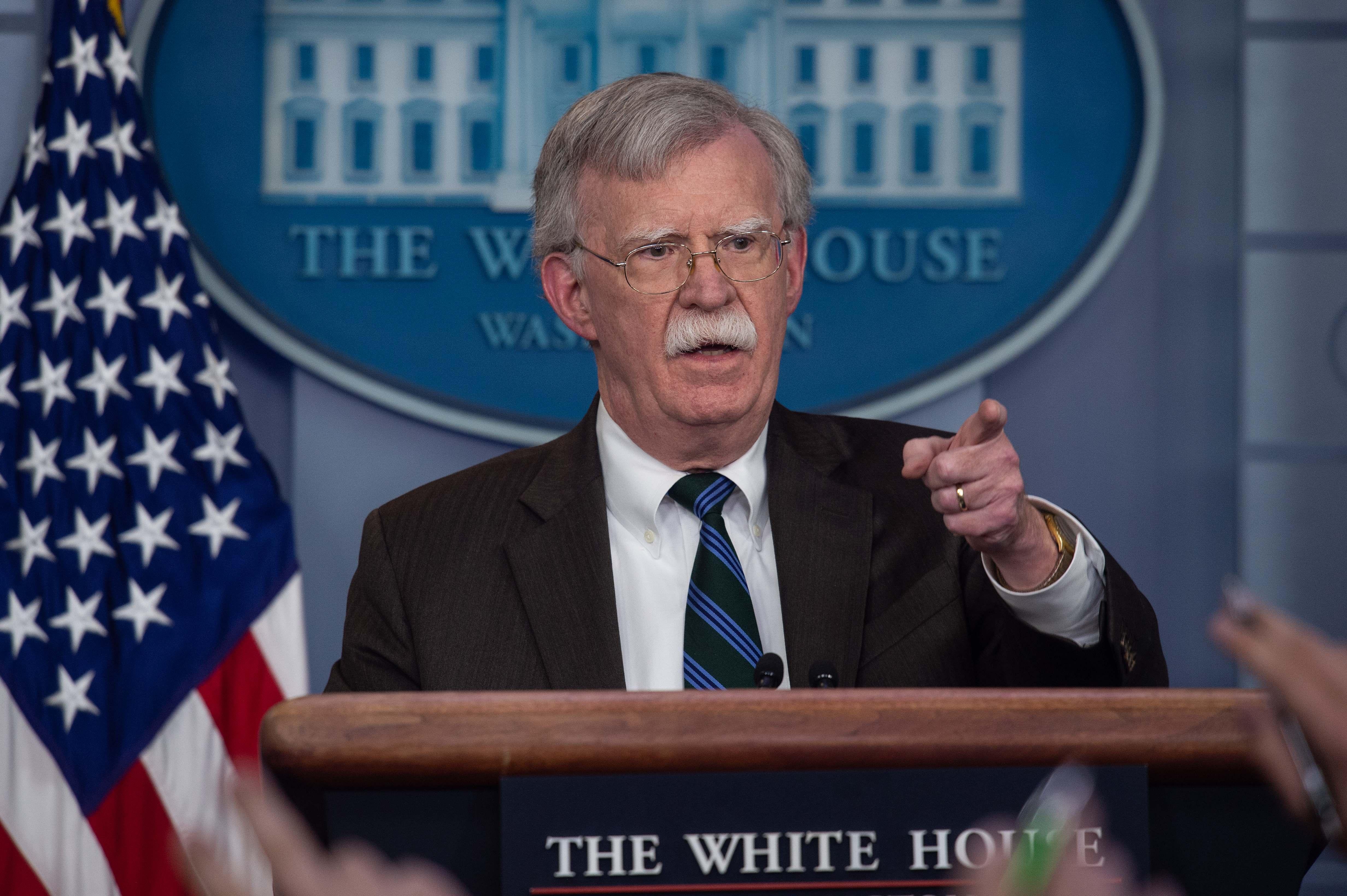 國家安全顧問:美國從敘利亞是有條件撤軍