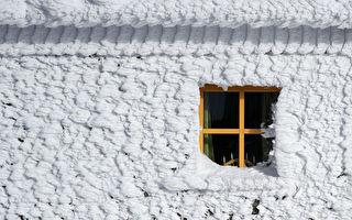 美中西和东部极度严寒 12岁女孩玩雪遇难