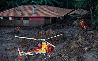 巴西矿场溃坝增至58死 仍有305人失踪