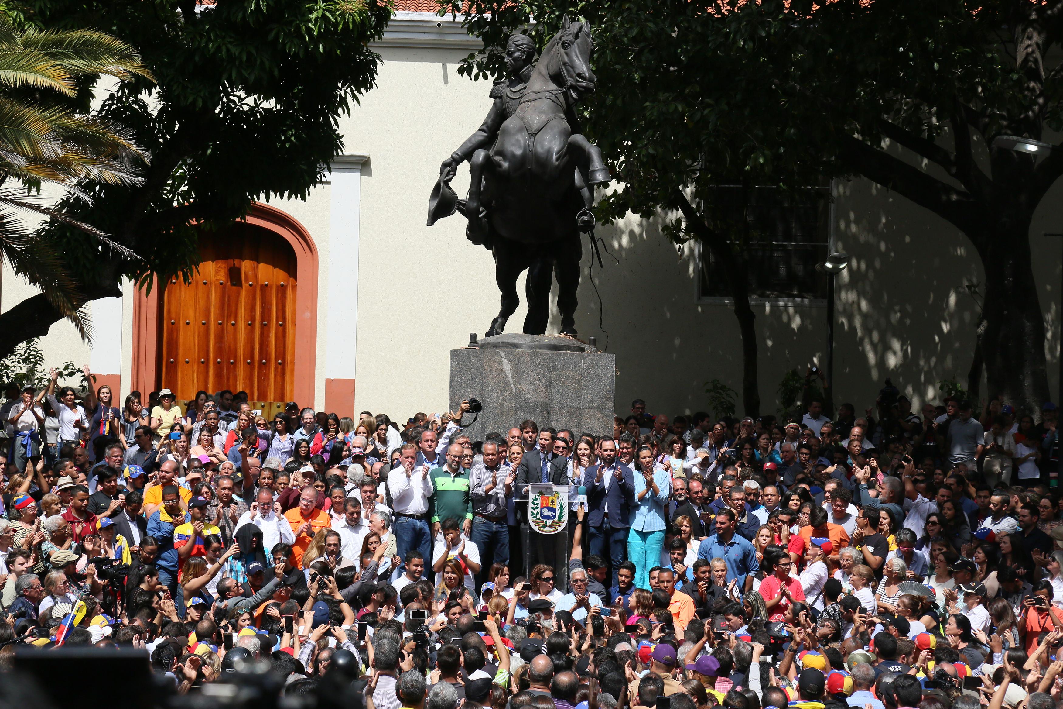 一文看懂 委內瑞拉政局的最新形勢