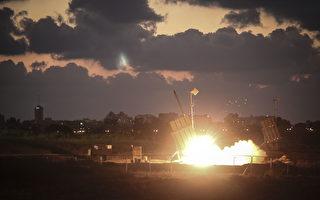 """以色列""""铁穹""""防空系统成功拦截伊朗导弹"""