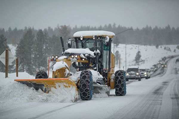 加州將連續受風暴侵襲 或有泥石流和大雪