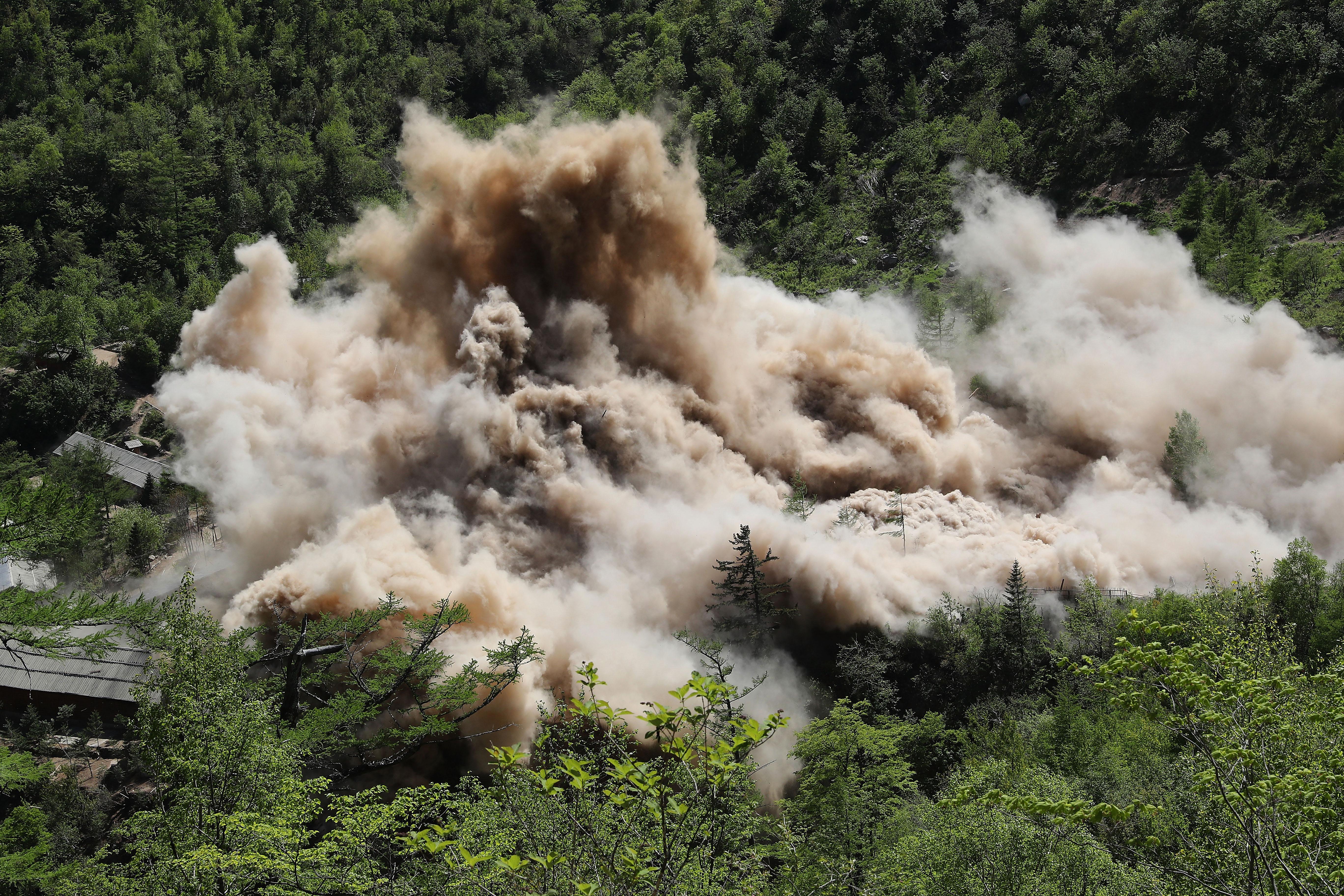 北韓發生小型地震 或是2017年的核試所致