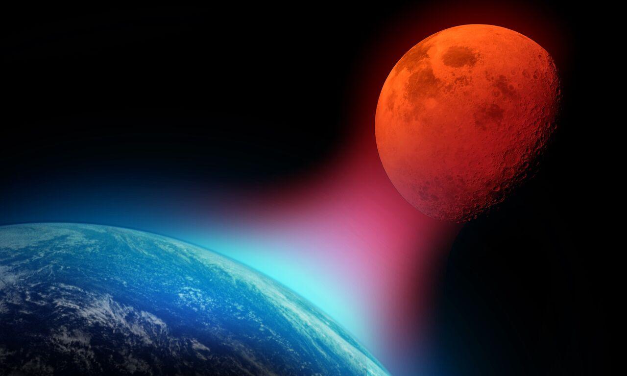 「超級血狼月」20日晚上演 怪名從何而來?