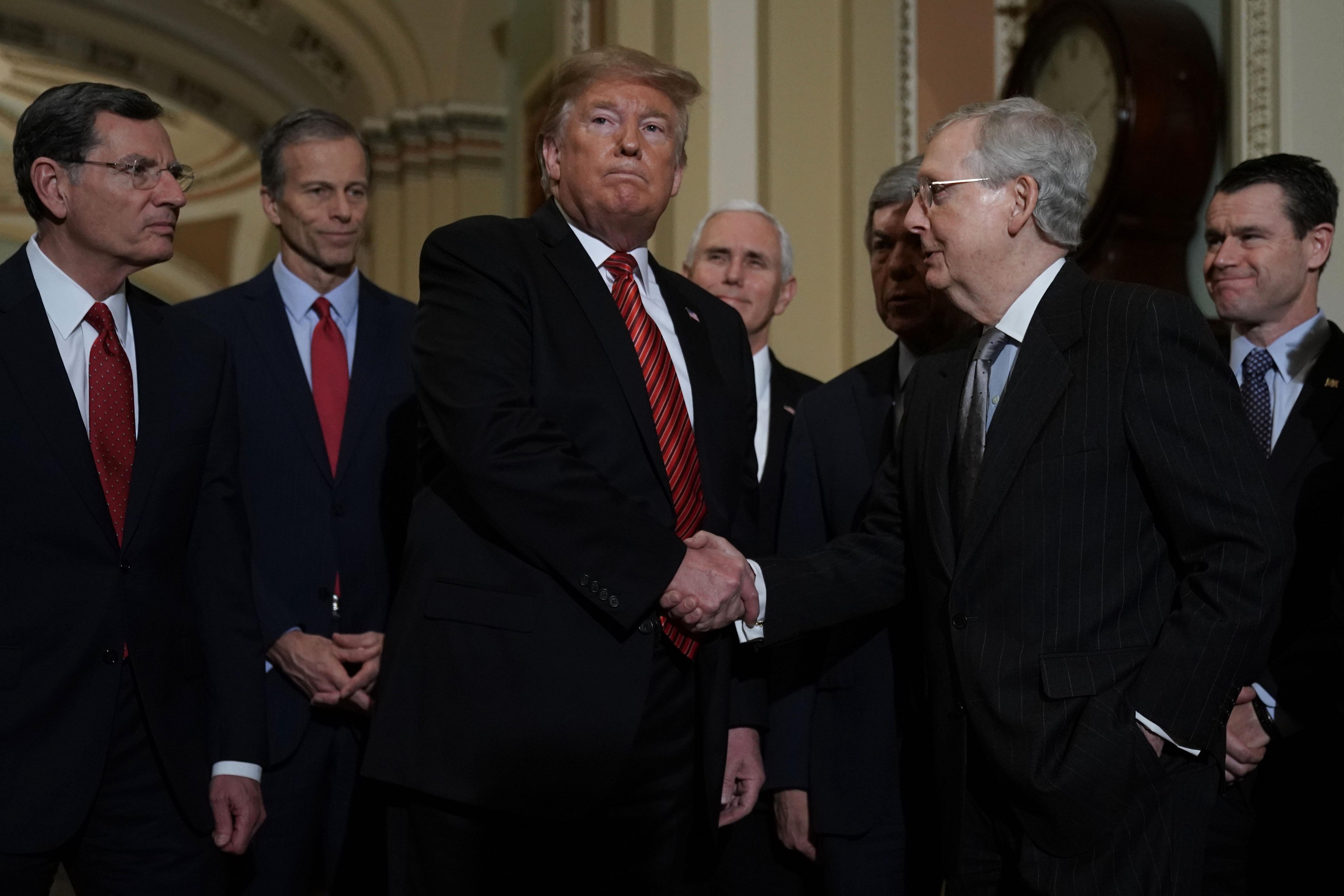 民主黨再拒築牆費 特朗普退出邊境安全會議