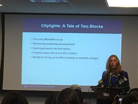 西雅图市议员Lisa Herbold建议各城市联合起来和亚马逊谈判。