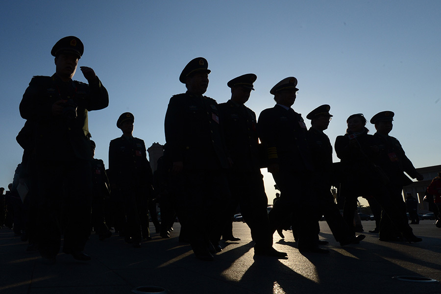 中共閱兵對美國核威懾 軍事專家:中共軍力不足以與美軍抗衡