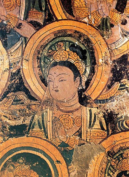 高昌壁畫 供養菩薩