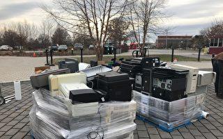 法拉盛回收3万磅电子垃圾