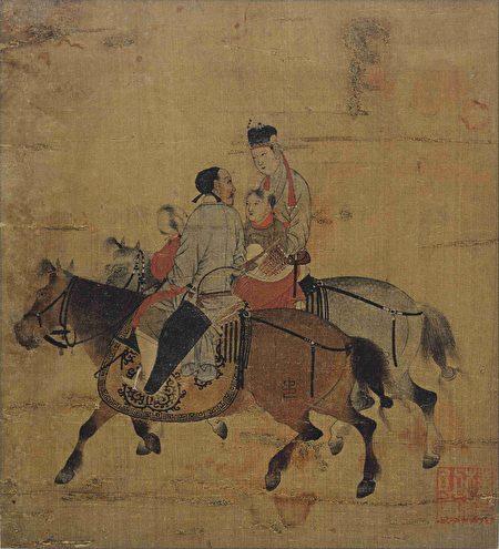 宋 佚名《文姬圖》,美國波士頓美術館藏。(公有領域)