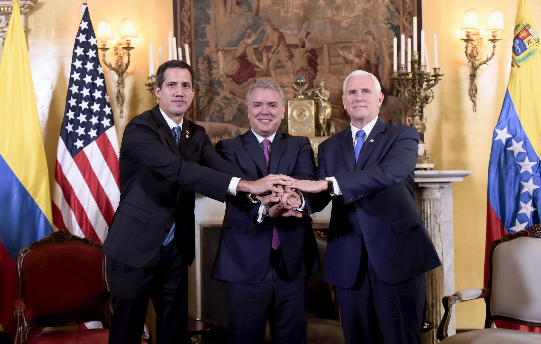 馬杜羅阻救援物資 美國宣佈新一輪制裁