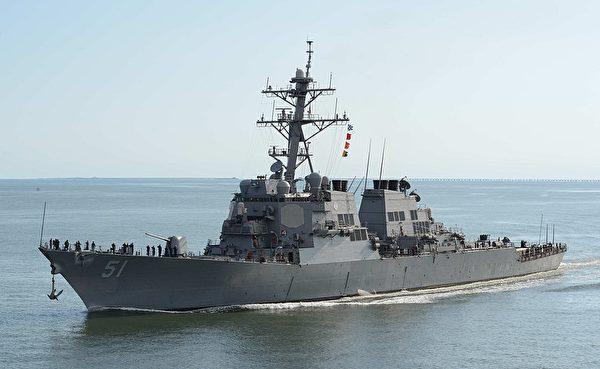 阿利伯克級驅逐艦。(維基百科公有領域)
