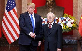 川普:朝鮮如果棄核武 越南是榜樣