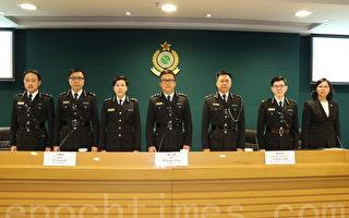 香港海關上年執法逾2.2萬宗