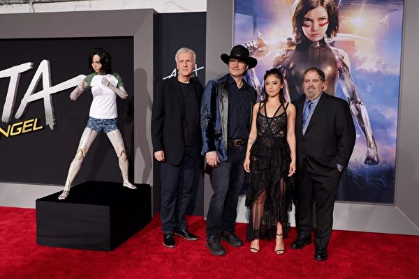 《艾莉塔:战斗天使》洛杉矶首映会