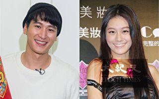 邵翔(左)與女星王承嫣(小蠻)情人節前夕宣布要共組工作室