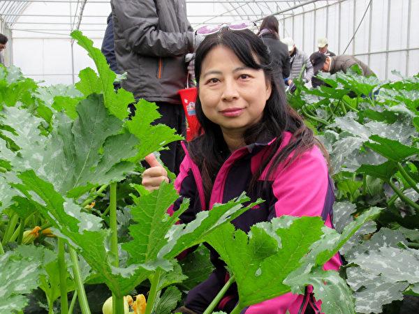 職訓師謝淑娟投身有機農業 闖出一片天
