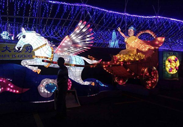 香港旅遊平台:台灣燈會美似海邊的TeamLab