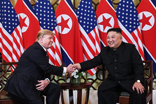 此次峰會最受關注的在於,北韓能否在放棄核武方面敲定更具體的措施。(SAUL LOEB/AFP)