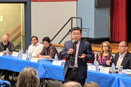 """市议员顾雅明表示,改革SHSAT搞的是平均主义,""""这是共产主义、社会主义的做法""""。"""