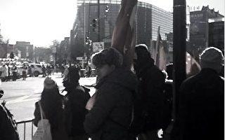 紅旗「占領」法拉盛 洩露中共滲透美國力量