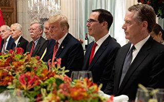 圖為川普與習近平在2018年12月G20峰會期間會面。