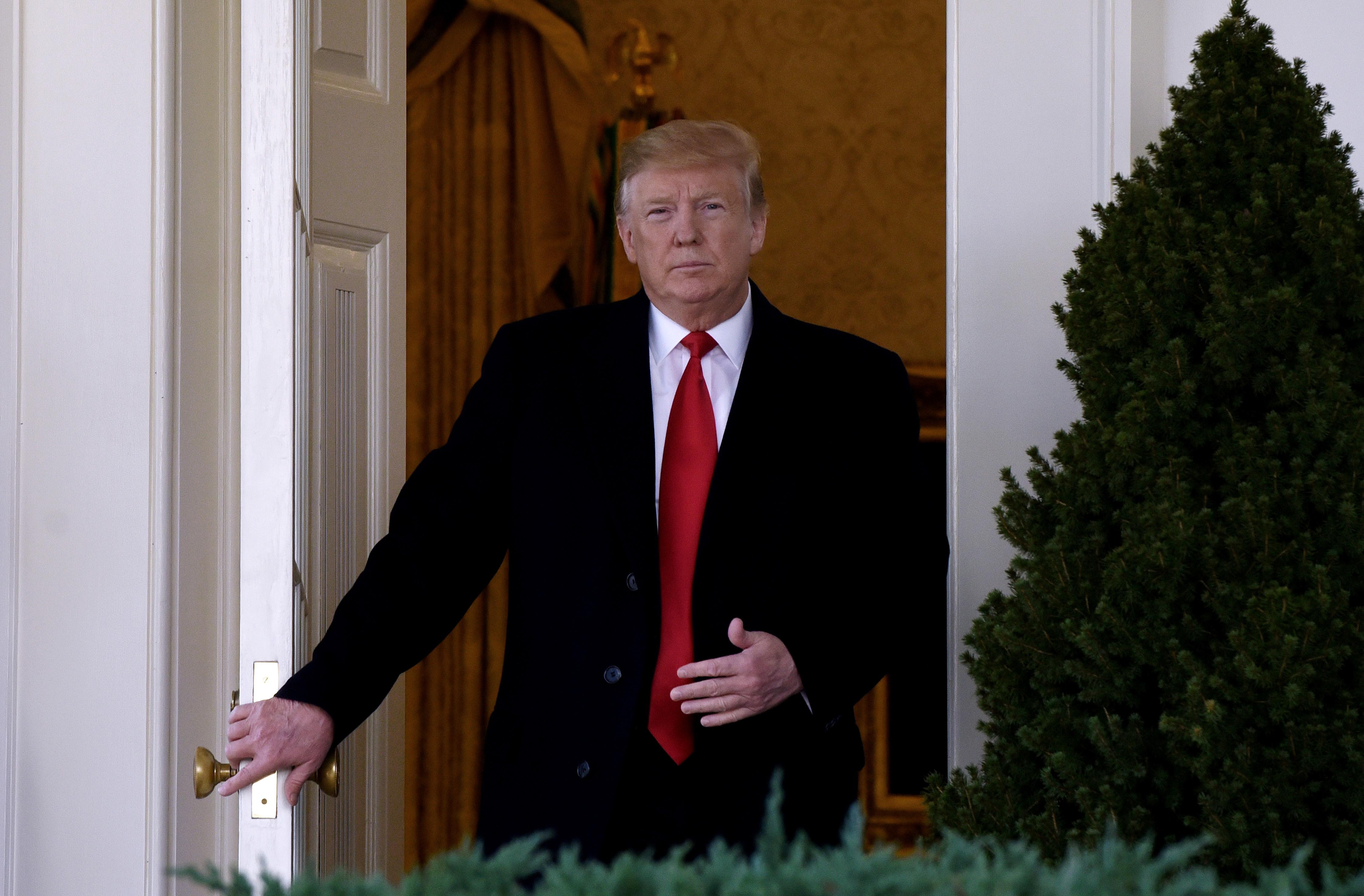 中美談判 特朗普:或達最大協議 或推遲一會