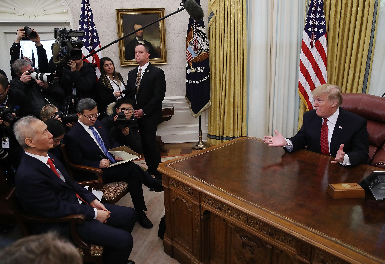 特朗普接見劉鶴談了五件事 二月續高階談判