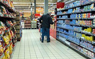 支持農民 法國超市4%食品漲價