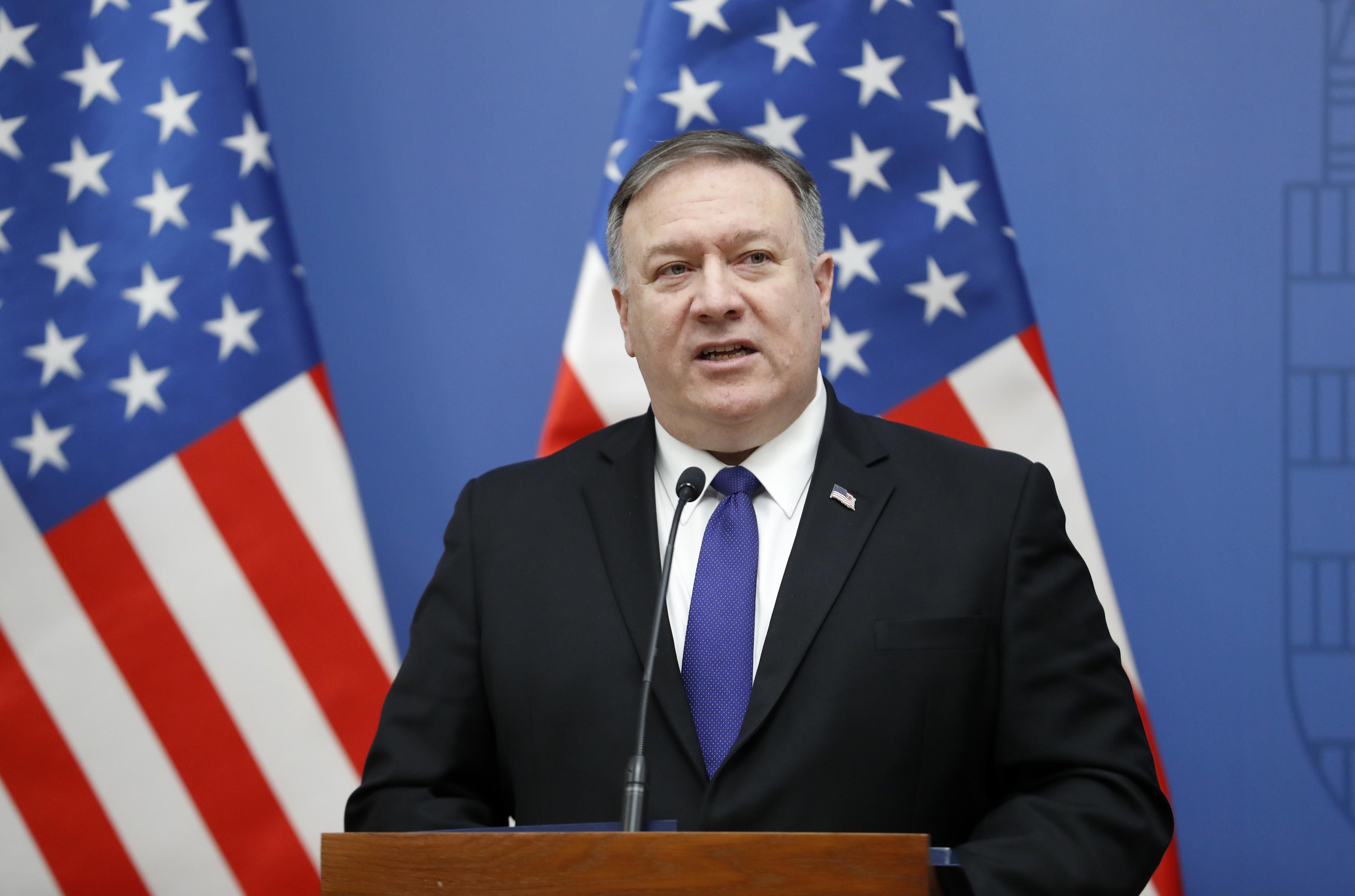 蓬佩奧:數周內將派代表團到北韓談判