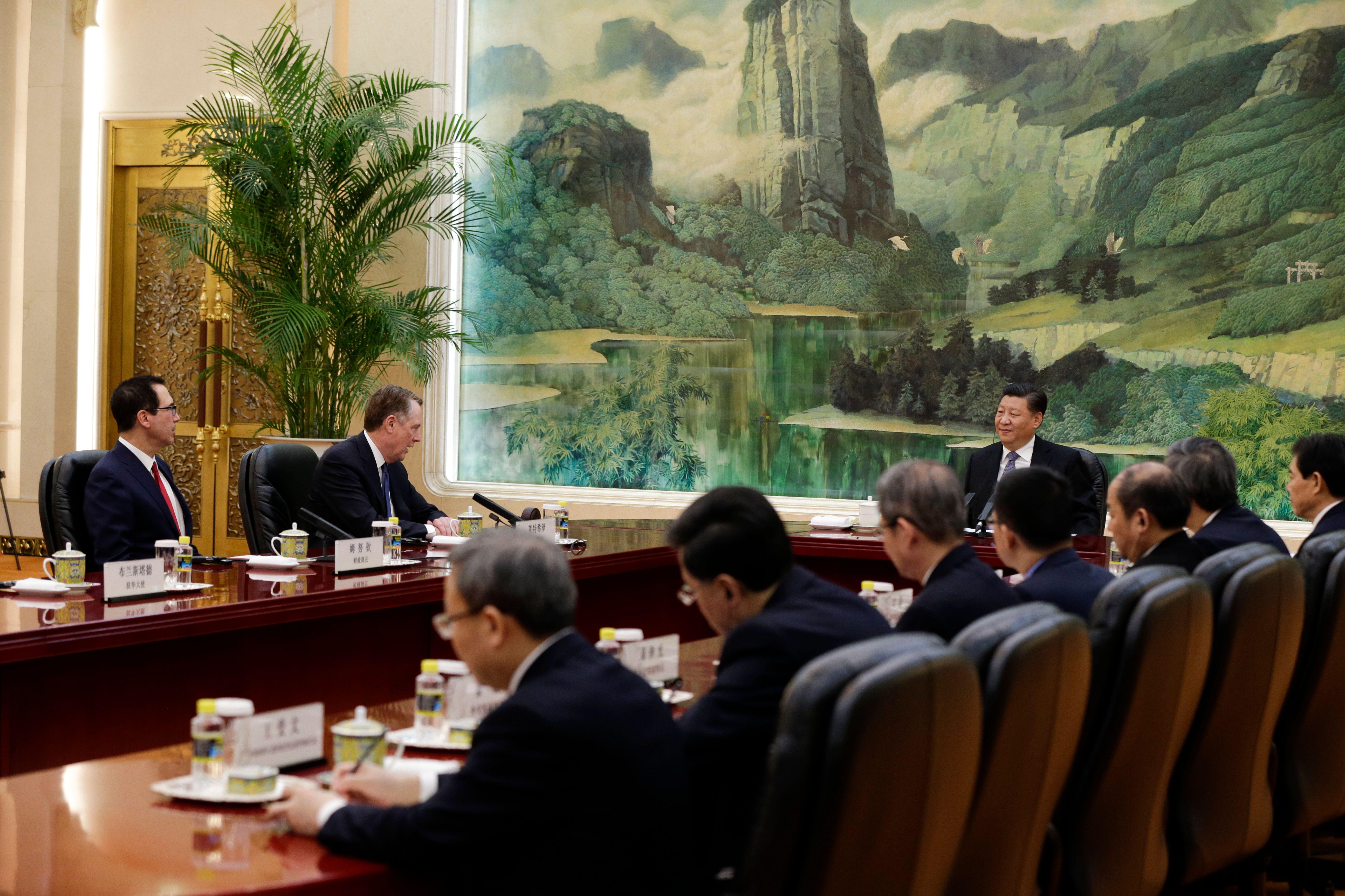 中美兩國談判代表週五結束了長達一週的談判,結果如何?似乎仍然是有進展無協議,並準備下週新一輪談判。(ANDY WONG/AFP/Getty Images)