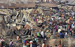 孟加拉贫民窟发生大火 致8人死50人受伤